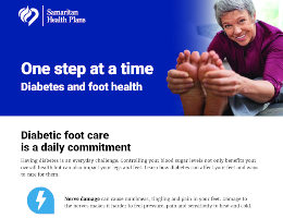 Diabetes Affects Your Feet Flyer