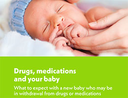 Drugs medication and your baby brochure image