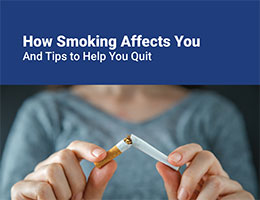 How Smoking Affects You Brochure